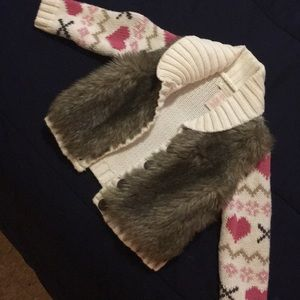 Other - Children's Faux Fur Sweater